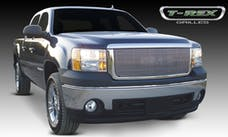 T-Rex Grilles 20205 Billet Grille, Polished, Aluminum, 1 Pc, Overlay/Insert