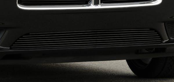 T-Rex Grilles 25442B Billet Bumper Grille, Black, Aluminum, 1 Pc, Overlay
