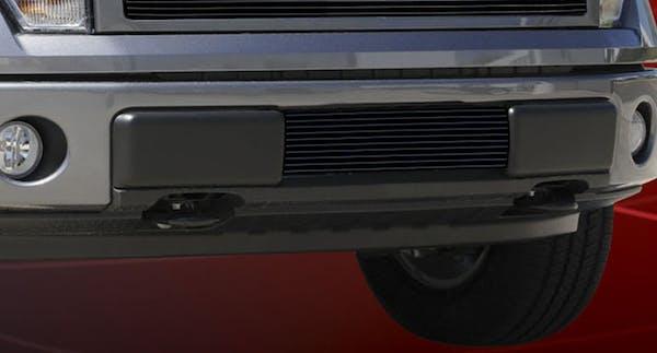 T-Rex Grilles 25569B Billet Bumper Grille, Black, Aluminum, 1 Pc, Bolt-On