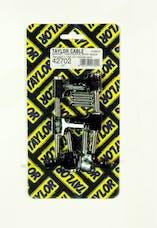 Taylor Cable Products 42702 Bracket Hortizontal 6/Pkg  Black