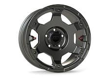 Teraflex 1056159 17 Inch Nomad Off Road Wheel 5x5 Bolt Pattern Titanium Gray Deluxe Ea