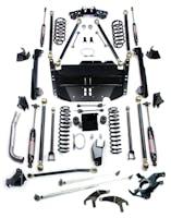 Teraflex 1249570 TJ 5 Inch Pro LCG Lift Kit W/High Steer And 9550 Shocks 97-06 Wrangler TJ/TJU