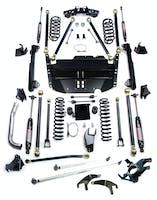 Teraflex 1249580 TJ 5 Inch Pro LCG Lift Kit W/High Steer And 9550 Shocks 97-06 Wrangler TJ/TJU