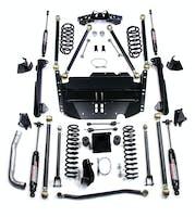 Teraflex 1249585 TJ Unlimited 5 Inch Pro LCG Long FlexArm Lift Kit 04-06 Wrangler TJ