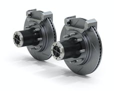 Teraflex 3034410 JK Front 8-Lug Full-Float Locking Hub Conversion Kit w/ Prfrmnc Slotted Rotors