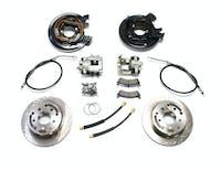 Teraflex 4354425 TJ Rear Disc Brake Conversion Kit W/E-Brake Cables 97-06 Wrangler TJ