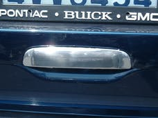 TFP 100L Tailgate Handle Insert Bottom Lever Below License Plate Stainless Steel Chromed