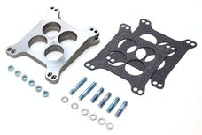 """Trans Dapt Performance 2028 1-13/16"""" Tall;HOLLEY/AFB 4BBL 8deg LEVELING BLOCK;Ported-CAST ALUM Carb Spacer"""