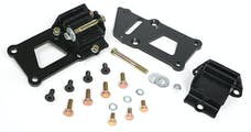 """Trans Dapt Performance 4599 LS IN SB CHEVY CHASSIS; LS ENGINE SWAP MOUNT KIT; 1 1/4"""" BACK; RUBBER PADS"""