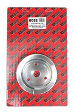Trans Dapt Performance 6052 CRANKSHAFT Pulley; 1 Groove; 55-68 CHEVROLET 283-350; SHORT W/P- Pol. ALUMINUM