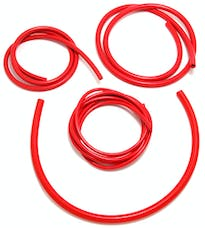 Trans Dapt Performance 6997 VACUUM HOSE (silicone); RED: 3, 6, 8 and 10mm Diameter Assortment