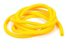 """Trans Dapt Performance 7589 YELLOW Wire Harness; Convoluted; 3/8"""" Diameter- (10 ft)"""
