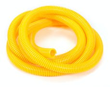 """Trans Dapt Performance 7590 YELLOW Wire Harness; Convoluted; 1/2"""" Diameter- (7 ft)"""