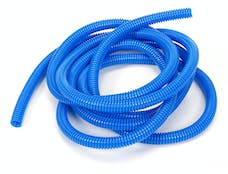 """Trans Dapt Performance 7593 BLUE Wire Harness; Convoluted; 3/8"""" Diameter- (10 ft)"""