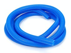 """Trans Dapt Performance 7594 BLUE Wire Harness; Convoluted; 1/2"""" Diameter- (7 ft)"""