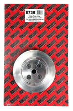 Trans Dapt Performance 8736 Water Pump Pulley Aluminum BB Chevy LWP Polished Finish