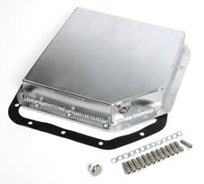 Trans Dapt Performance 9105 FABRICATED ALUMINUM TRANSMISSION PAN; GM TH350