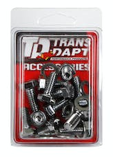 Trans Dapt Performance 9232 DIFFERENTIAL COVER BOLT SET; CHROME GM 14 BOLT DIFFERENTIAL COVERS