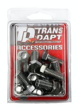 Trans Dapt Performance 9239 DIFFERENTIAL COVER BOLT SET; CHROME DANA 60 DIFFERENTIAL COVERS