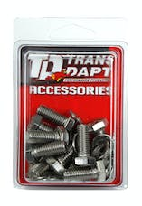 Trans Dapt Performance 9246 DIFFERENTIAL COVER BOLT SET; CHROME GM 14 BOLT (METRIC) DIFFERENTIAL COVERS