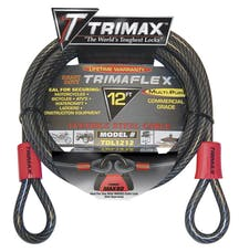 Trimax TDL1212 2' X12mm TRIMAFLEX Dual Loop Multi-Use Cable