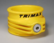 Trimax TFW55 Ultra Tough 5th Wheel Trailer Lock, Use On King Pin