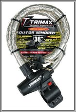 "Trimax TG2236SX Ironclad High Security Armor Plated Stainless Steel Locking Cable 36"" X 22m"
