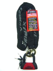 Trimax THEX5060 Combo Set - THEX Super Chain - 5' X 12mm + Max 60 Disc U-Lock