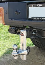 "Trimax TRZ6SX 6"" 100% Stainless Steel Adjustable Drop Hitch"