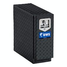 """UWS DS-18-BLK 18"""" Aluminum Drawer Slide Black"""