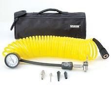 VIAIR 00025 5 in 1 Deflator/Inflator  25 Ft. Coil Hose  100 psi Inline Gauge  Bag