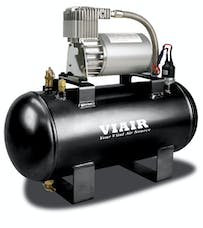 VIAIR 20003 1.5 Gal. Tank Air Source Kit Fast Fill-120 120 PSI Compressor 12V