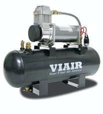 VIAIR 20007 200 PSI 2.0 Gal. Tank Fast-Fill-200 Air Source Kit 200 PSI Compressor 12V
