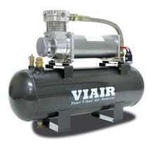 VIAIR 20008 200 PSI 2.0 Gal. Tank High-Flow-200 Air Source Kit 200 PSI Compressor 12V