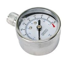 VIAIR 90071 1.5in Tire Gauge 0 to 100 PSI