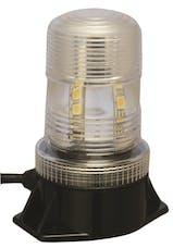 "Vision X 4002135 5.25"" Utility Market LED Strobe Beacon Red"