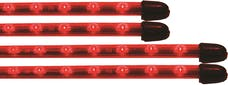 Vision X 4005037 Flexible LED Under Car Kit Red