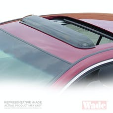 Wade Automotive 72-33104 Cab Guard Wind Deflector Smoke