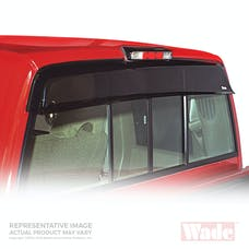Wade Automotive 72-34102 Wind Deflectors  - Cab Guards Smoke