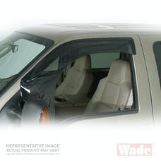Wade Automotive 72-34468 Cab Guard Wind Deflector Smoke