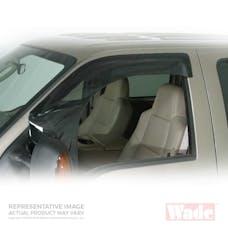 Wade Automotive 72-36470 Cab Guard Wind Deflector Smoke