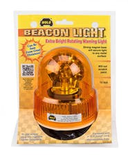 Wolo Manufacturing Corp. 3100-A BEACON LIGHT Extra Bright Rotating Warning Light (Amber)