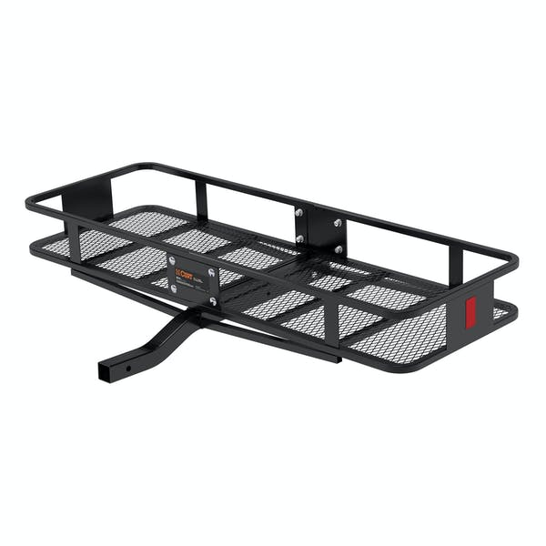 """CURT 18150 60"""" x 20"""" Basket-Style Cargo Carrier (Fixed 2"""" Shank)"""