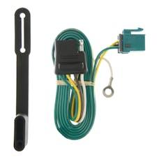 CURT 55240 Custom Wiring Connector (4-Way Flat Output)