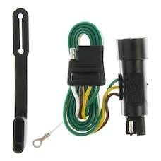 CURT 55301 Custom Wiring Harness (4-Way Flat Output)