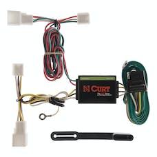 CURT 55308 Custom Wiring Harness (4-Way Flat Output)
