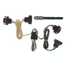 CURT 55323 Custom Wiring Harness (4-Way Flat Output)