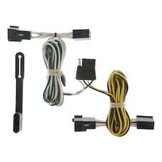 CURT 55328 Custom Wiring Harness (4-Way Flat Output)