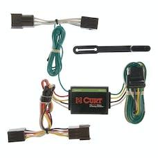 CURT 55333 Custom Wiring Harness (4-Way Flat Output)