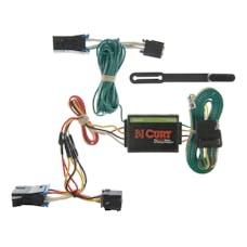 CURT 55335 Custom Wiring Harness (4-Way Flat Output)